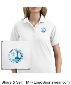 Ladies Polo Design Zoom