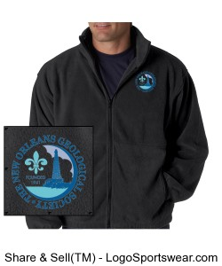 Fleece Jacket Design Zoom